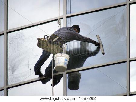 Window Washer Lean