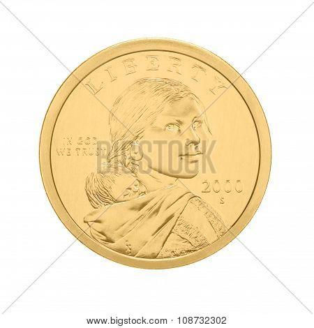 US Sacagawea - one dollar coin