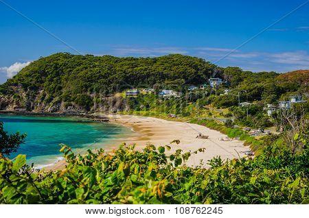 Beach in NSW, Australia