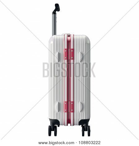 Luggage for travel, side view