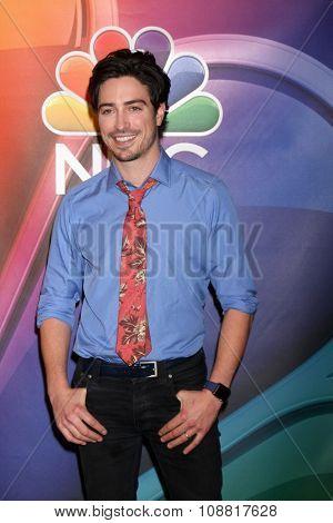LOS ANGELES - NOV 17:  Ben Feldman at the Press Junket For NBC's