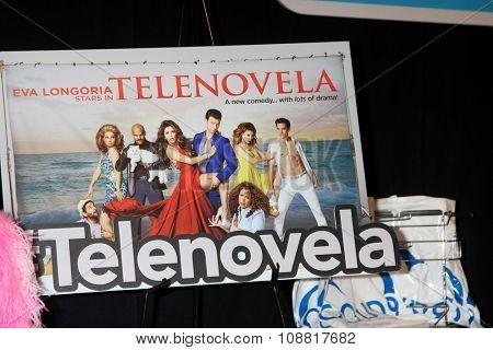 LOS ANGELES - NOV 17:  Telenovela Poster at the Press Junket For NBC's