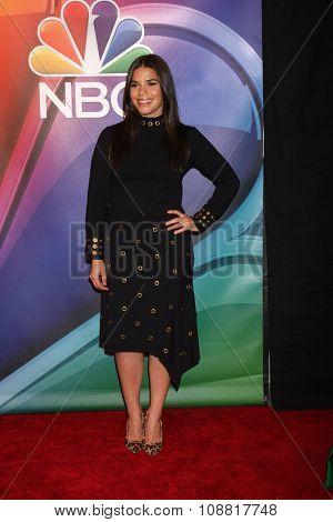 LOS ANGELES - NOV 17:  America Ferrera at the Press Junket For NBC's