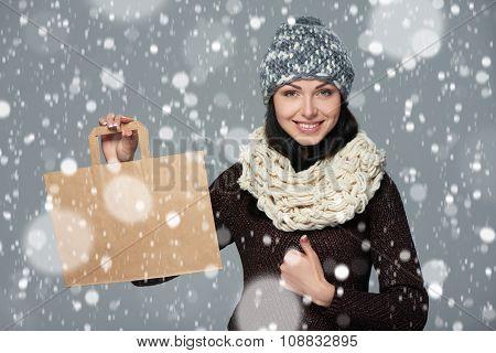 Holidays sale, shopping, Christmas concept