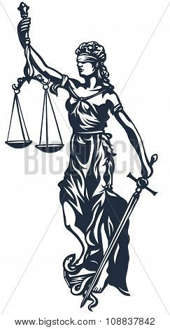 Femida lady justice
