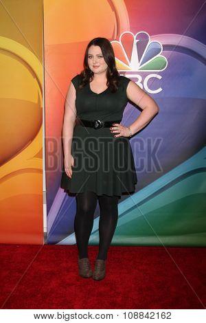 LOS ANGELES - NOV 17:  Lauren Ash at the Press Junket For NBC's