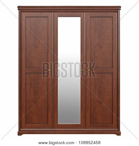 Cabinet wardrobe, front view