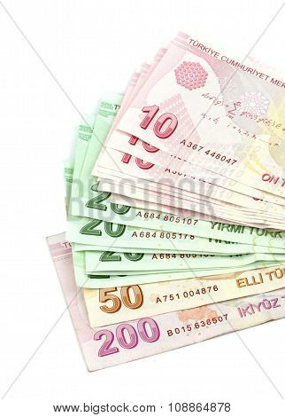 Turkish banknotes. Turkish Lira ( TL )
