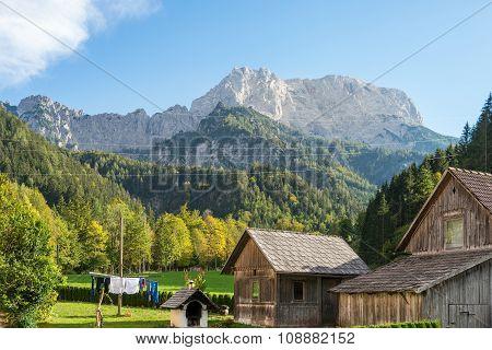 Ennstal Alps in Styria