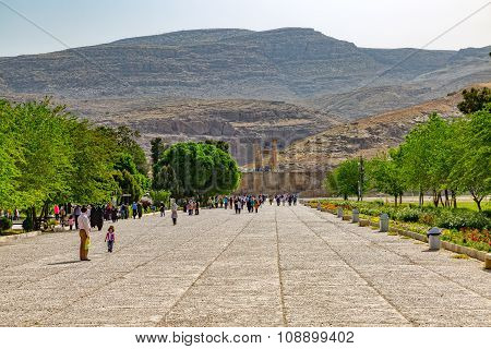 Entrance to the Ruins of Persepolis