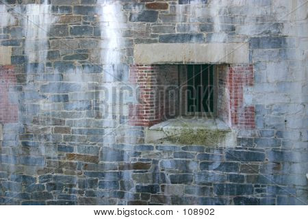 Weathered Cell Window