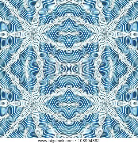 Waves Seamless Pattern