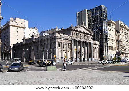 School President Roca In Buenos Aires