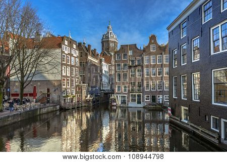 Canal Houses Armbrug Amsterdam
