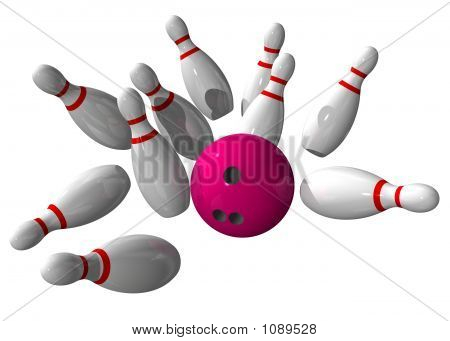 Strike During A Bowling Game