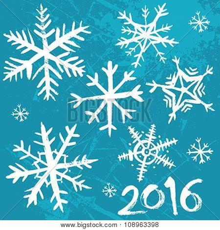 2016 Winter background