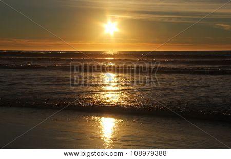 Christmas Star Pacific Sunset