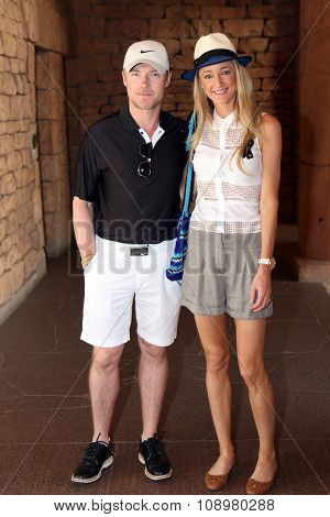 Singer-songwriter Ronan Keating And His New Wife Storm Uechtritz November 2015 In South Africa