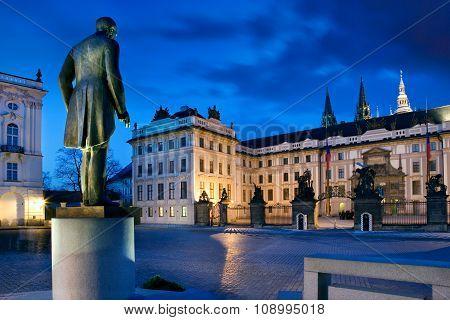 Prague Castle, Prague (unesco), Czech Republic