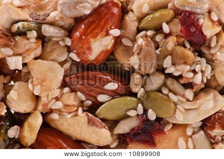 Almond And Peanuts Cluster