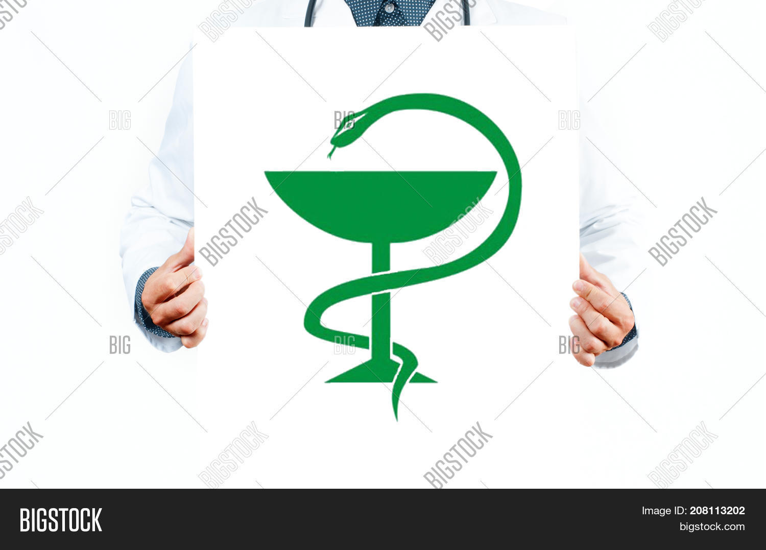 Doctor Medical Snake Image Photo Free Trial Bigstock