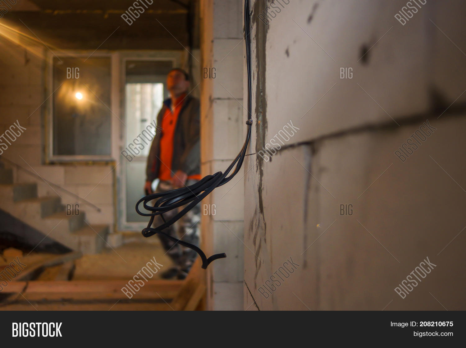 Closeup Wall Socket Image Photo Free Trial Bigstock Wiring Electrical Outlets For Electrician With Exposed Sockets The
