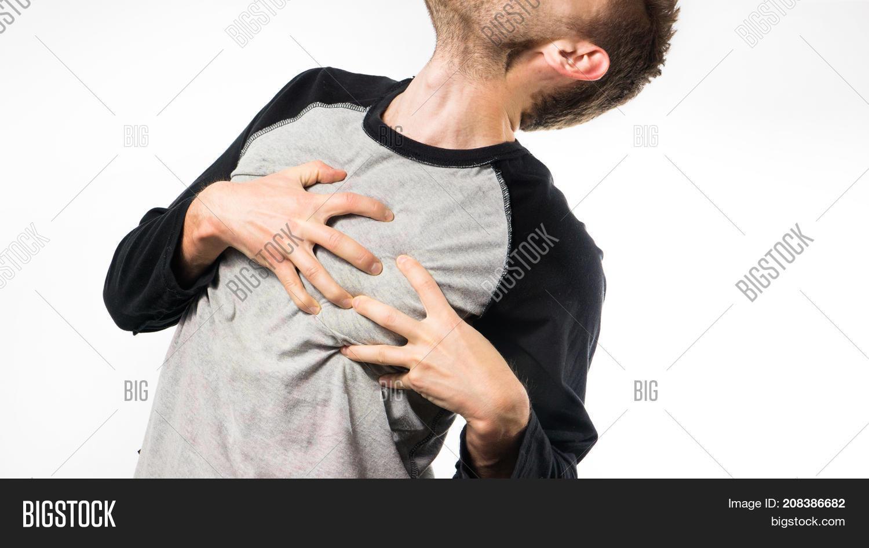 Man Suffers Pain Heart Image & Photo (Free Trial) | Bigstock