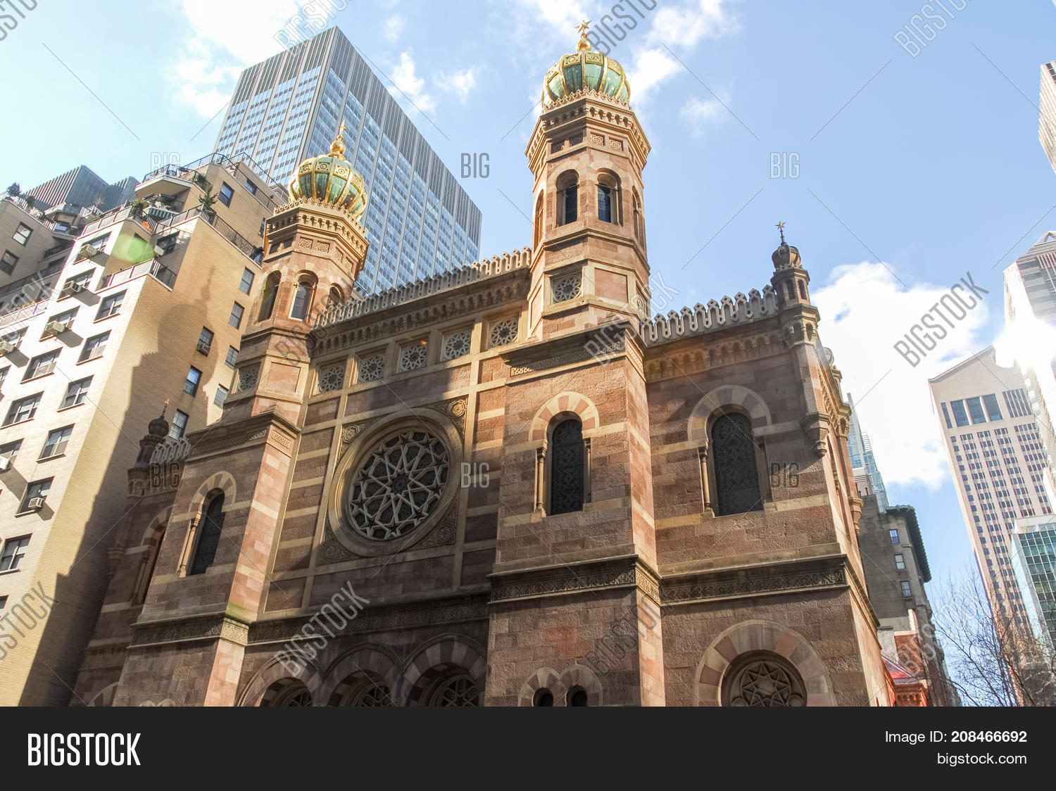 Central Synagogue - Image & Photo (Free Trial) | Bigstock
