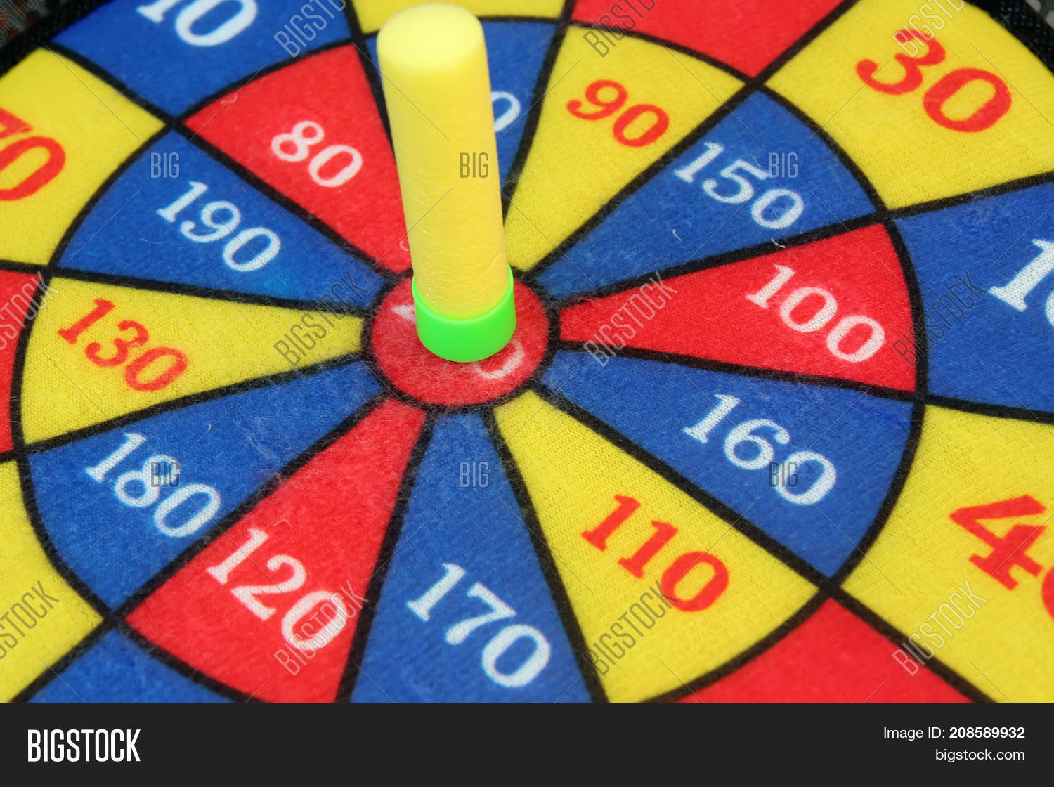 Target Toy Kids Dart Image Photo Free Trial Bigstock