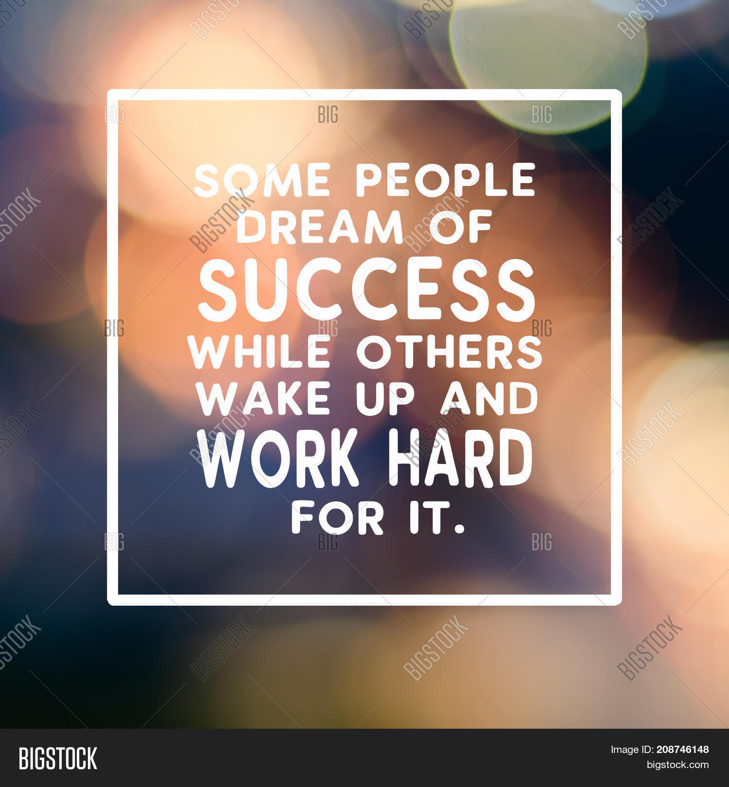 Motivational Image Photo Free Trial Bigstock