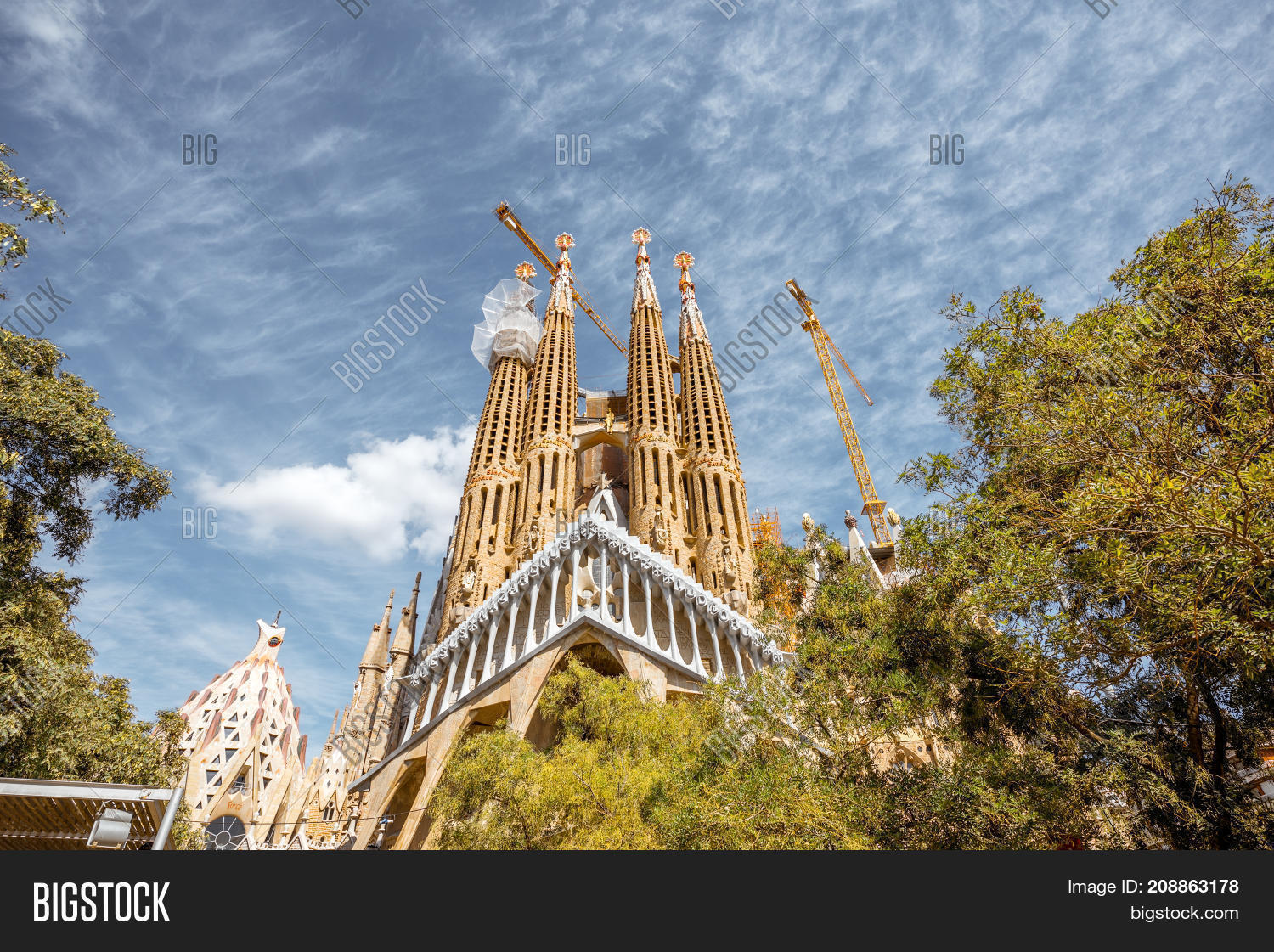 Barcelona Spain Image Photo Free Trial Bigstock