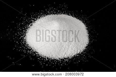 Pile Of Granulated Sugar