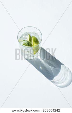Gin Tonic In Glass