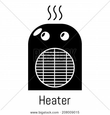 Heater icon. Simple illustration of heater vector icon for web
