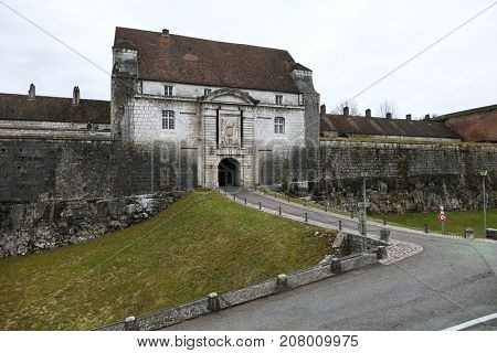 Citadel of Besancon – France.