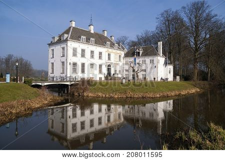 Manor house 't Velde near Warnsveld in the municipality of Zutphen in the Dutch region Achterhoek