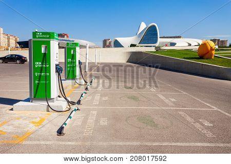 Charging Station In Baku