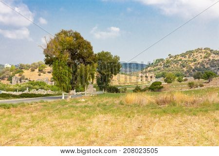 Road to the gate of Patara, Turkey