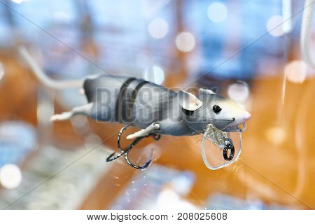 Lure For Fishing Gray Mouse