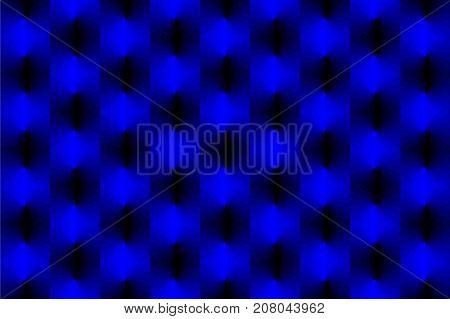 Lightning bolt - abstract geometric vector pattern - blue , Thunder abstract background