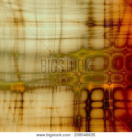 Ancient texture or damaged old style background with vintage grungy design elements and different color patterns