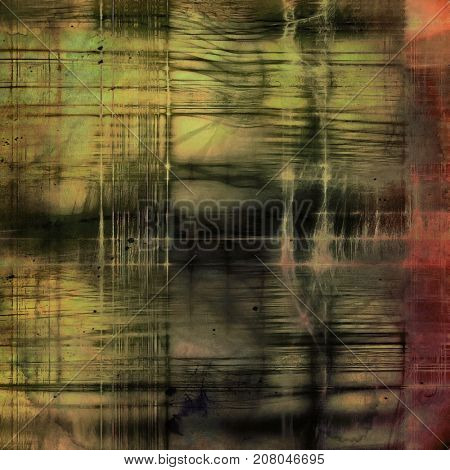 Retro texture used as abstract grunge background. Shabby backdrop with different color patterns