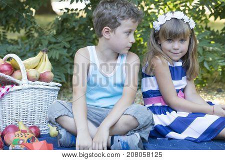 Kids At The Picnic