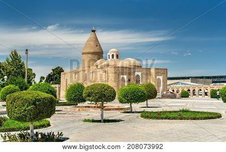 Chashma-Ayub Mausoleum in Bukhara, Uzbekistan. Central Asia