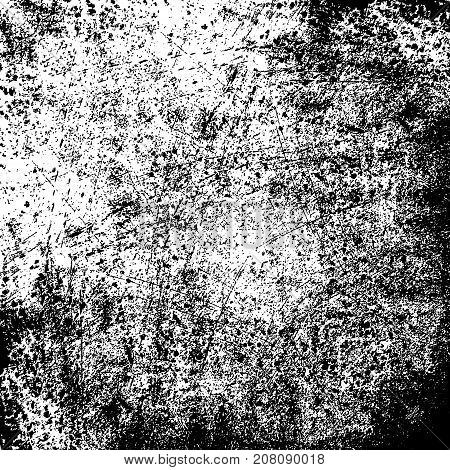Distress Grainy Dust Overlay Grunge Texture For Your Design. EPS10 vector.