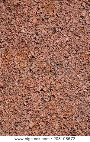 Red brick surface close-up for background or texture