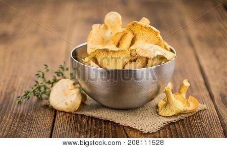 Chanterelles (freshly Harvested)
