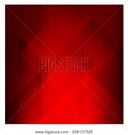 Dark red polygonal illustration, which consist of triangles. Geometric background in polygonal graphics style with gradient. Triangular design for your business.