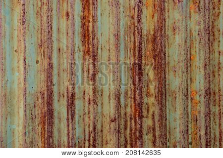 Rusty old iron sheet, For texture and background.