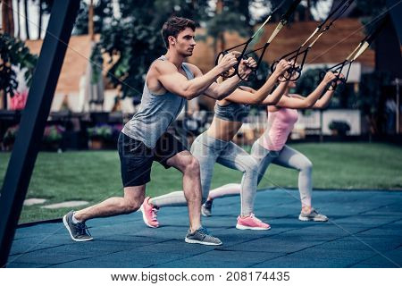Group Trx Training